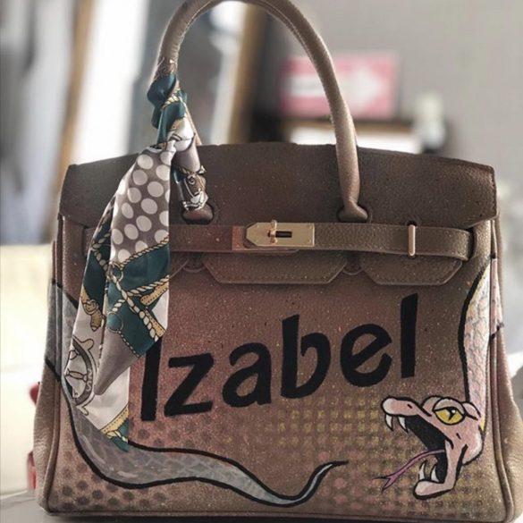hermes tas personalized bag tas met naam