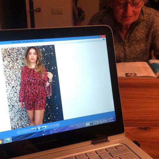 Bloggen aan mama's tafel