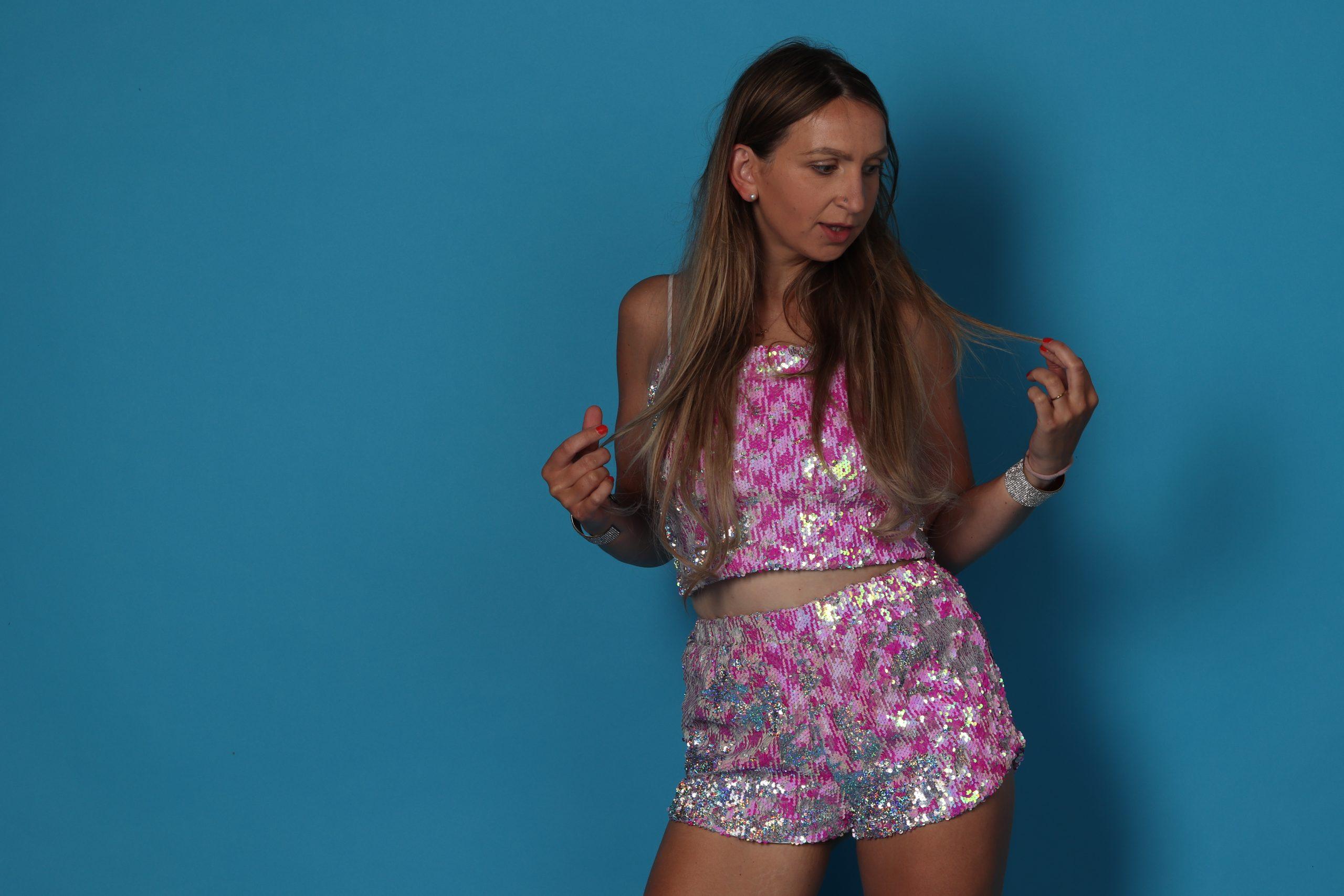 topshop sequin pailletten fashion mode roze astrid alida fotografie fotostudio